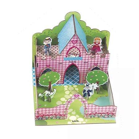 Quebra Cabeça 3D Castelo  - Babebi