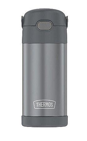 Garrafinha Térmica FOOGO 355 mL Cinza - Thermos Foogo