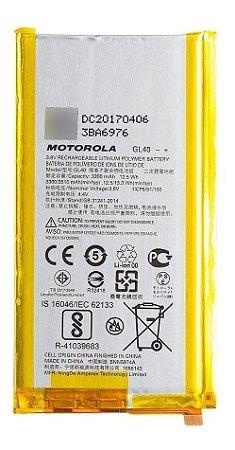 Bateria Moto Z Play Gl40 Celular Motorola Nova Lacrada