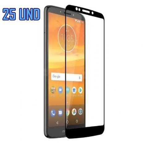 [KIT COM 25] Película De Vidro 3d-5d  Moto G6 PLUS