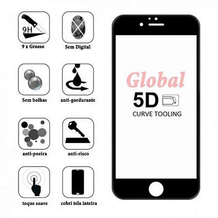 [KIT COM 10] PELICULA  3D-5D-6D IPHONE 11 PRO MAX