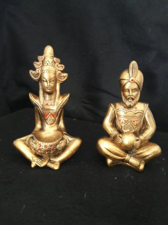 Casal indiano 16cm
