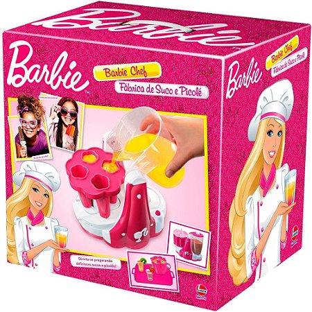 Barbie Chef  Fábrica de Suco e Picolé da Barbie
