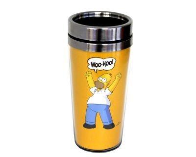 Copo Térmico Amarelo Os Simpsons Homer Woo-Hoo (250004)