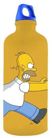 Garrafa em Alumínio Simpsons Familia  (250012)