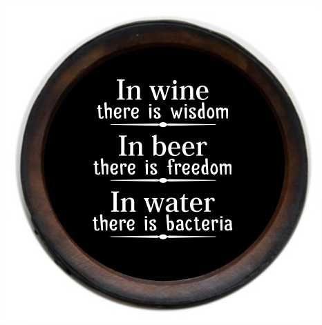 Quadro Porta Rolha Pequeno Redondo In Wine (1053)