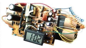 Relógio de Mesa Digital Bomba Decorativo (722)