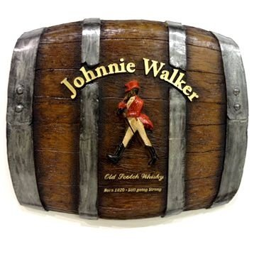 Placa Decorativa Barril Johnnie Walker (453)