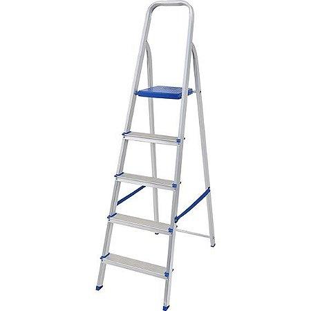 Escada para Uso Doméstico 5 Degraus
