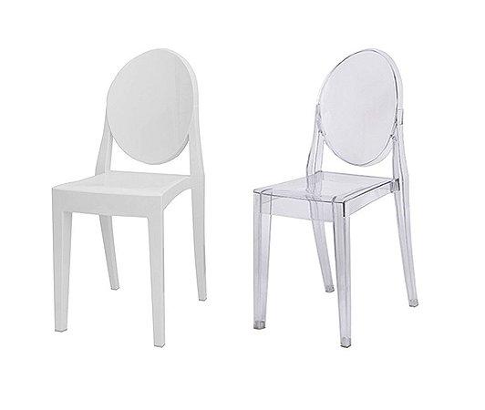 Cadeira de Jantar Translúcida OR1107