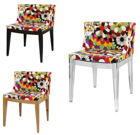 Cadeira Cristie Floral Gerbera