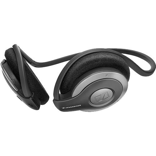 Fone de Ouvido Sem Fio Sennheiser MM 100 Bluetooth com Microfone Preto