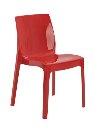 Cadeira Ice Polipropileno - Vermelha