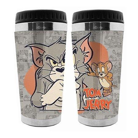 Copo Térmico Hanna Barbera Tom e Jerry Cinza 500ml (28285)