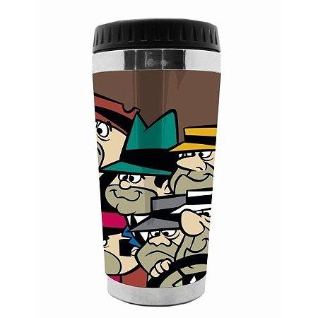 Copo Térmico Hanna Barbera Corrida Maluca Quadrilha da Morte 500ml (28275)
