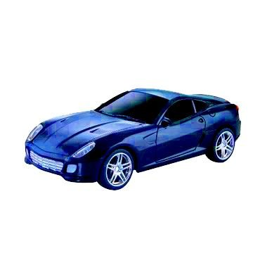 Carro Controle Remoto 7 Funções - Sports Classic Azul (13955)