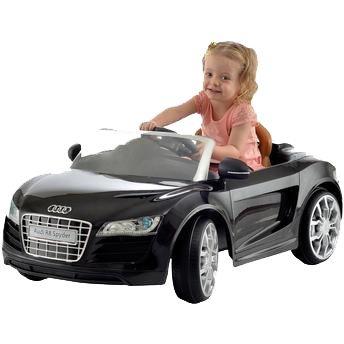 Carro Elétrico Infantil Audi R8 Preto