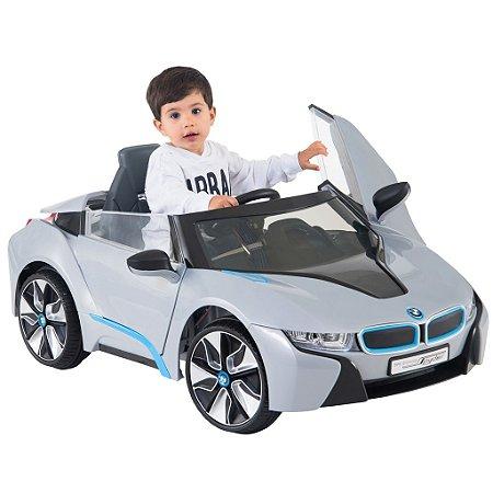 Carro Elétrico Infantil Bmw 18 Concept Prata Biemme