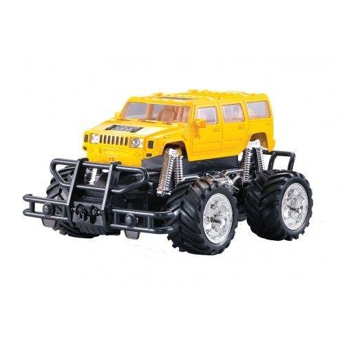 Carro Controle Remoto 7 Funções Super Jipe 4x4 Amarelo