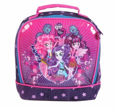 Lancheira Térmica My Little Pony Girls Dmw 48701