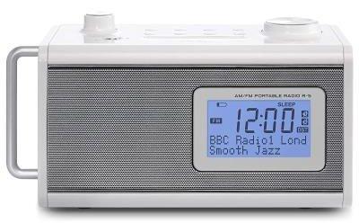 Rádio Relógio Digital R5 Branco Teac