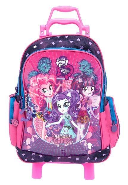 Mochila de Rodinhas Mochilete Escolar Hasbro Equestria Girls (48704)