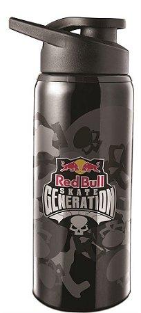 Garrafa Squeeze Red Bull Camuflada 600ml Aço Inox 48810