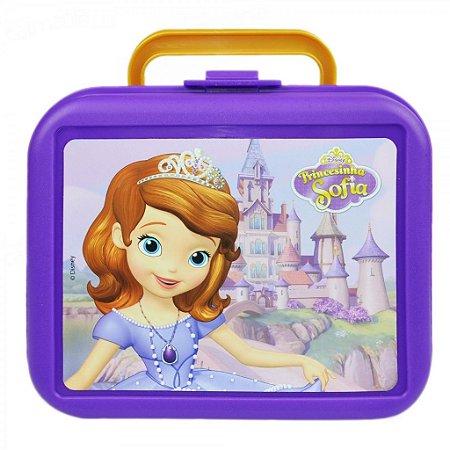 Lancheira Princesinha Sofia Roxa Escolar Infantil 48817