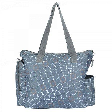 Bolsa Para Bebê Baby Bag Fisherprice Easy Trend Grande 01216