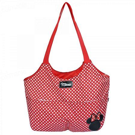 Bolsa Para Bebê Baby Bag Minnie Grande Vermelha 01934