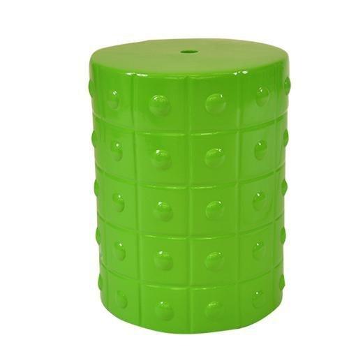 Banqueta Seat Garden Cerâmica Verde CJ0012