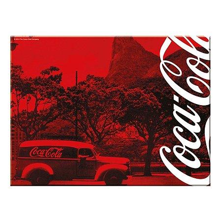 Tábua De Corte Em Vidro Coca Cola Landscape 30x40cm (26806)