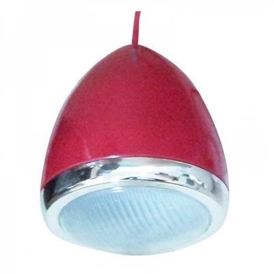 Luminária De Teto Car Front Light Vermelha Pequena 110v 25w