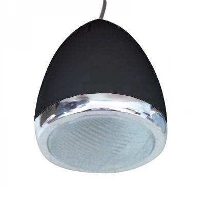 Luminária De Teto Car Front Light Preta Pequena 110v 25w
