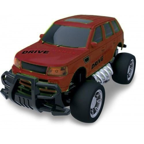 Carro Controle Remoto Super Jipe Speedmundi Vermelho