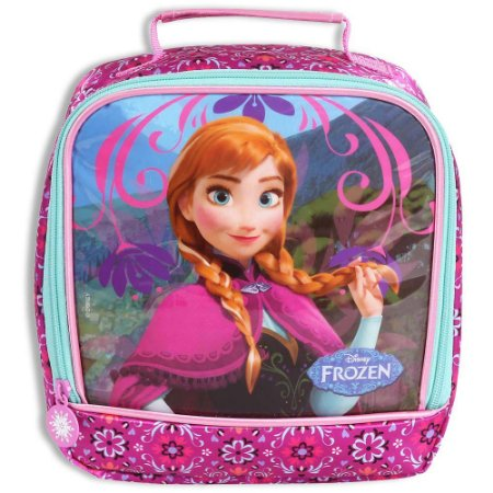 Lancheira Anna Frozen Rosa Escolar Infantil (60216)