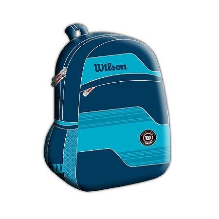Mochila Esportiva Wilson Azul Grande Unissex (wtix13538d)