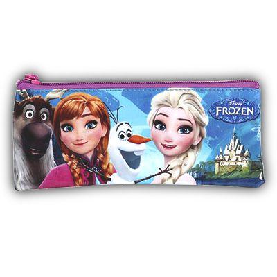 Estojo Soft Frozen 1 Divisória Escolar Infantil (37118)