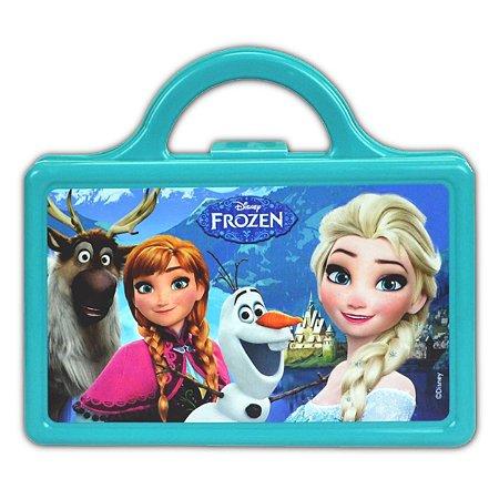 Lancheira Injetada Frozen Azul Escolar Infantil (37120)
