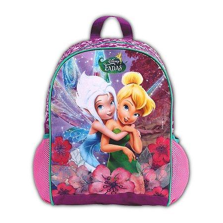 Mochila De Costas Fadas Sininho Tinkerbell Disney Escolar