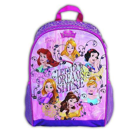 Mochila De Costas Princesas Dream Infantil Escolar (37216)