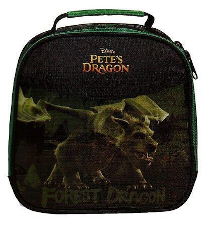 Lancheira Térmica Pete's Dragon Escolar Com Pote E Squeeze