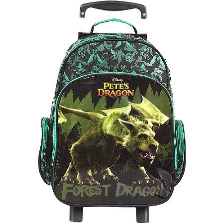 Mochila de Rodinhas Mochilete Escolar Disney Meu Amigo o Dragão (37200)