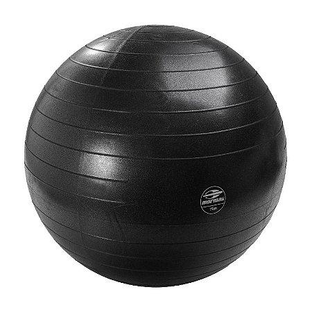 Bola de Ginástica Preto 75cm Mormaii Fitness Anti-Burst 447300