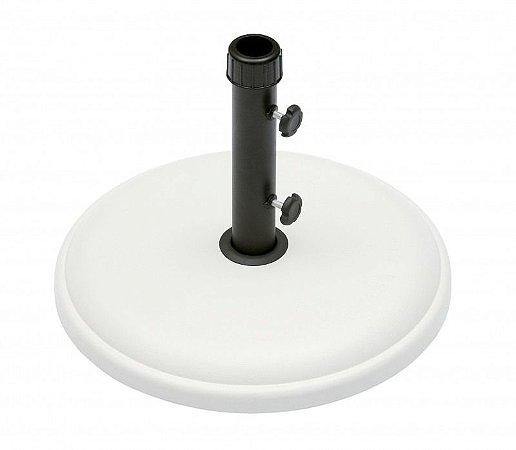 Base 25 Kg para Ombrellone Concreto Expansível Branco Haste 38mm (26401)