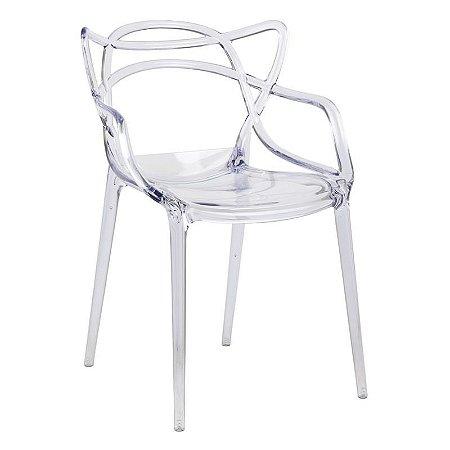 Cadeira Allegra Incolor Translúcido