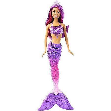 Boneca Barbie Reino Mágico - Sereia do Reino dos Cristais