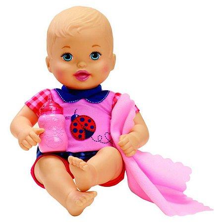 Boneca Little Mommy Recem Nascido Joaninha