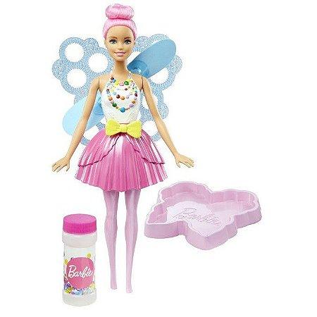 Boneca Barbie Fada Bolhas Mágicas