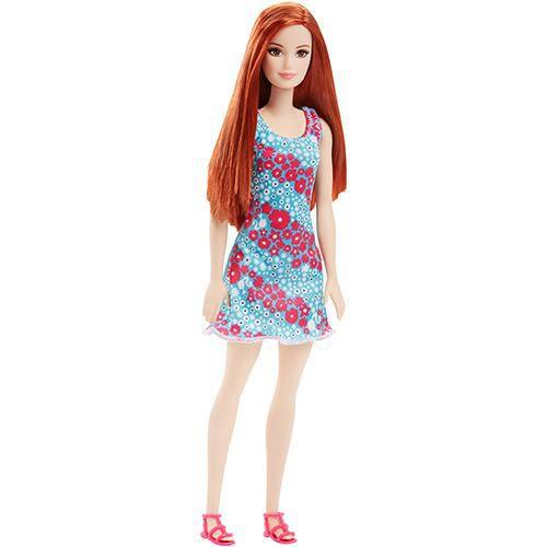 Boneca Barbie Fashion Ruiva